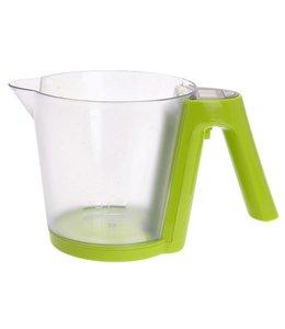 Digitale keukenweegschaal / maatbeker (groen)