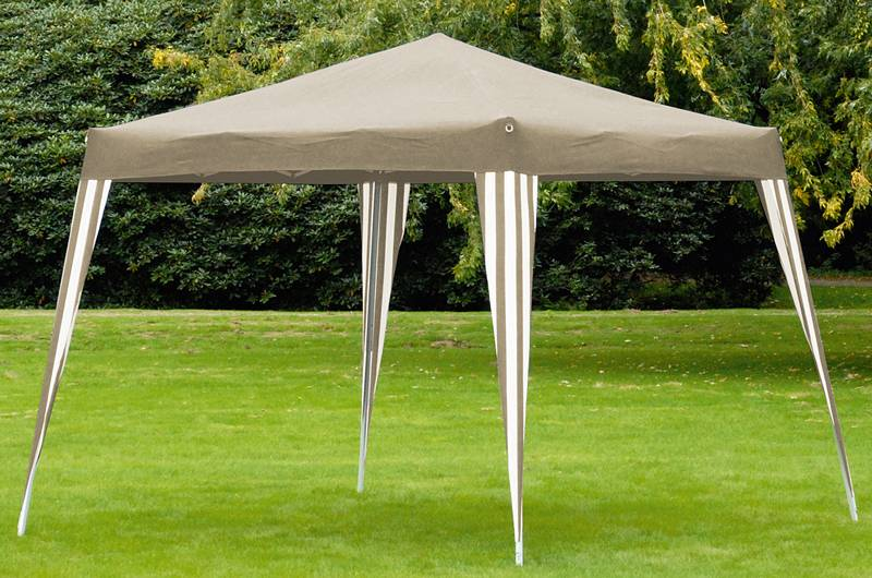 "Opvouwbare ""Easy Up"" partytent (taupe)"