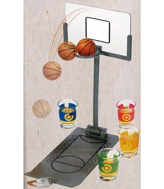 Basketball Shotglass Game