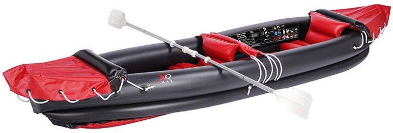 2-persoons kano met peddels