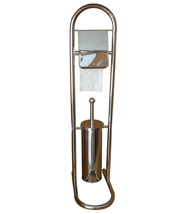Protenrop Roestvrijstalen toiletset (2-in-1)