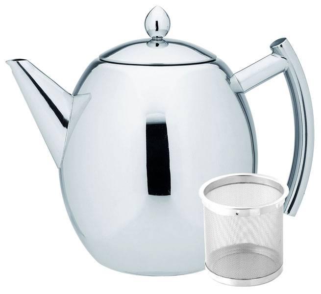 Roestvrijstalen theepot (1,5 liter)