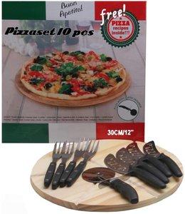 Pizzaset 10 delig