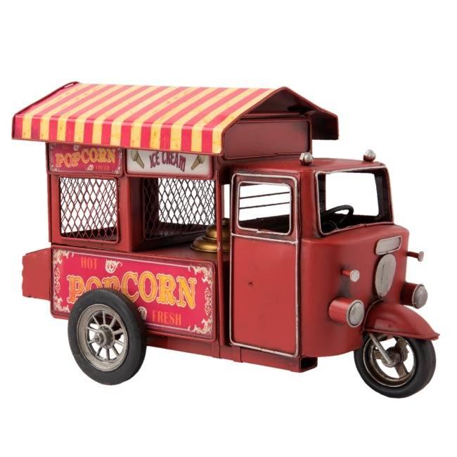 Model Popcornkar Driewieler