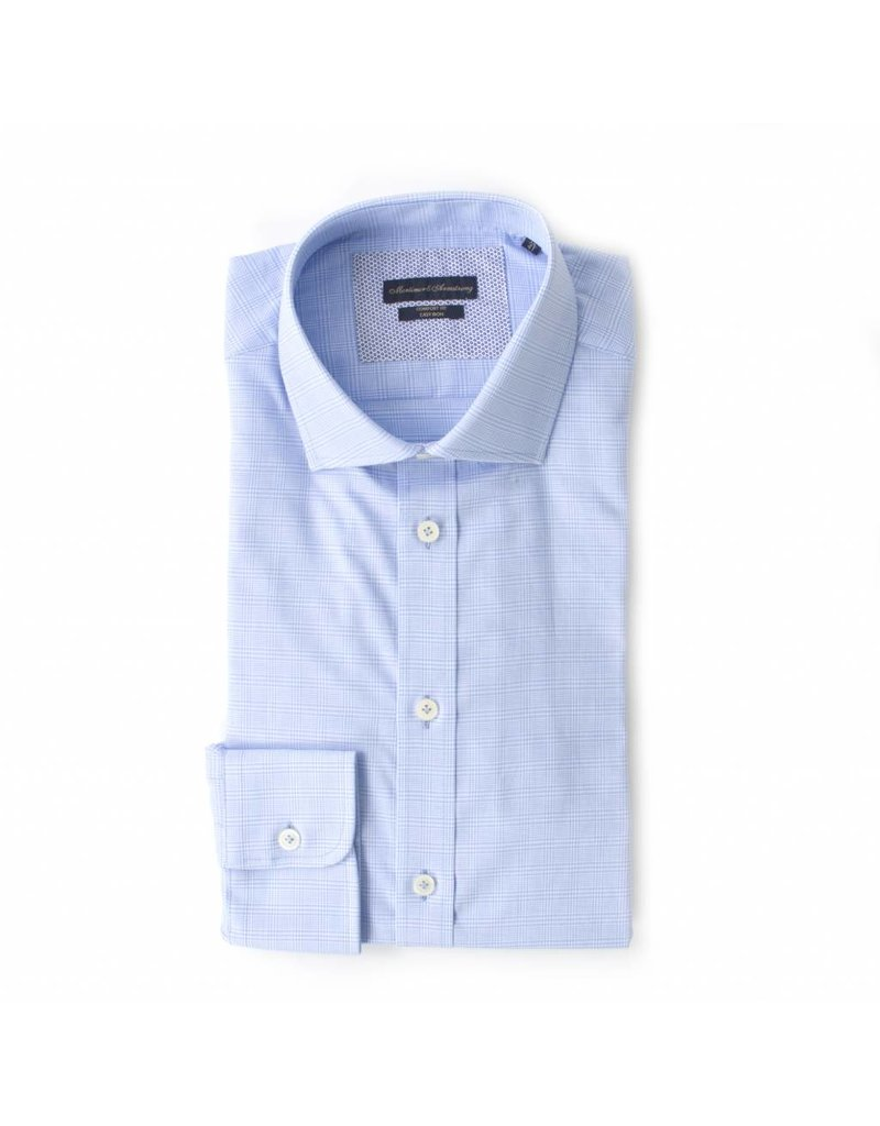 check small. Fine Check Mortimer U0026 Armstrong Blue Shirt With Small Check Intended Check Small S