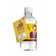 Visitekaartje met pepermunt 330 ml bronwater