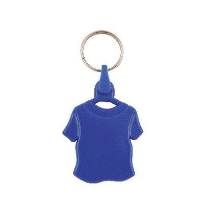 Kunststof sleutelhanger T-shirt