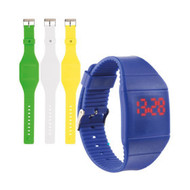 Touch screen horloge
