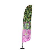 Beachflag 60x 195 cm.