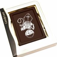 Sintgeschenk chocolade tablet bedrukt met Sinterklaas