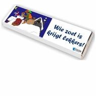 Sintgeschenk chocolade Sint reep