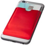 RFID kaarthouder voor smartphone, oranje