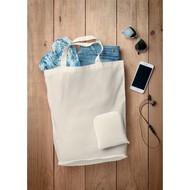 Foldy cotton opvouwbare boodschappentas