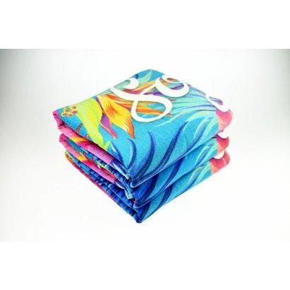 Reactief geprinte handdoeken 90 x 180cm