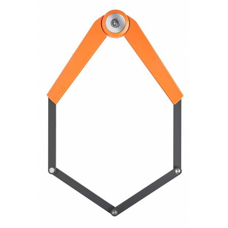 AXA Vouwslot Toucan 120 oranje