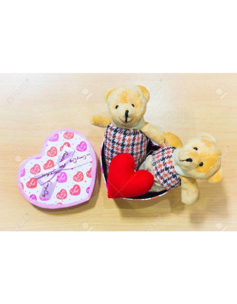 Liefde Teddy Bear Couple