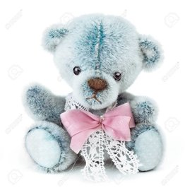 Cute Blue Bear