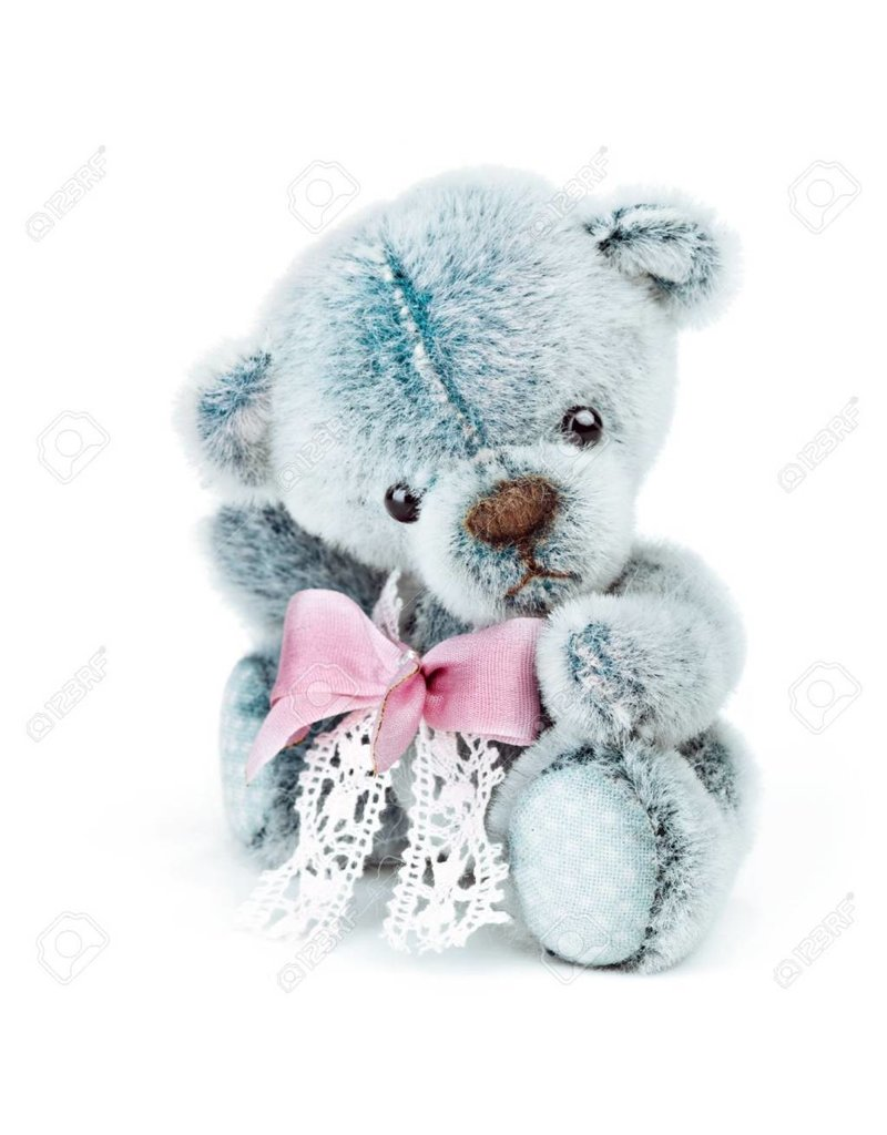 Cute Blue Bear