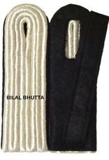 4-streifig Schulterstücke in silber