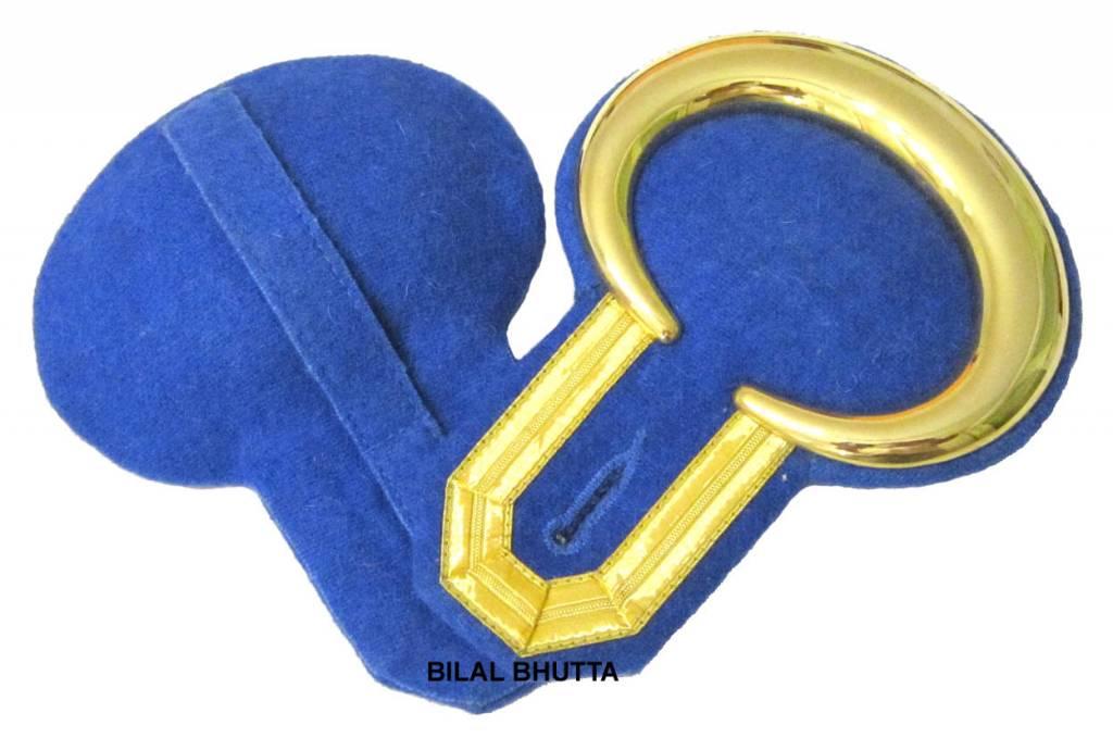 Epauletten gold mond und Tresse (ein Paar)