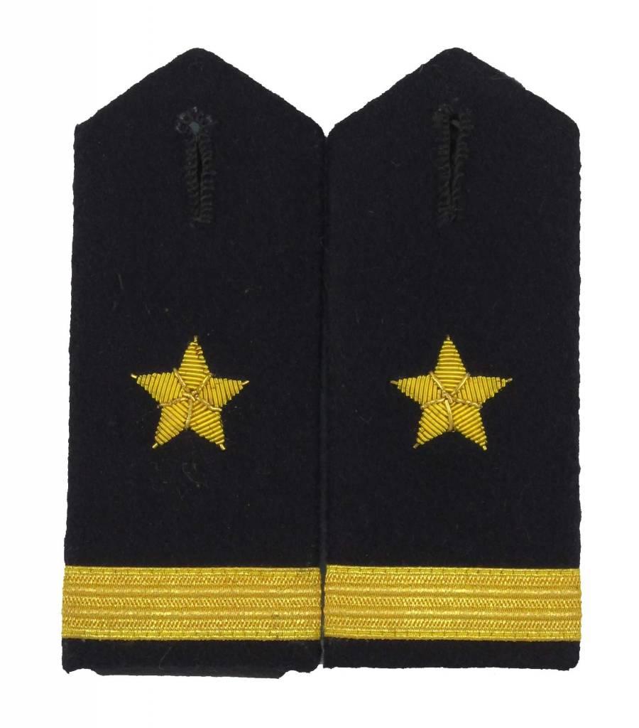 Bundeswehr Leutnant zur See / Ensign Schulterklappen
