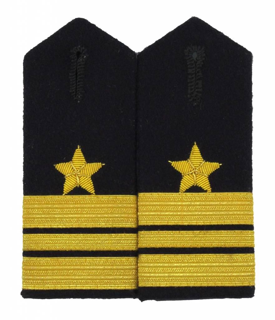 Bundeswehr Kapitänleutnant / Lieutenant Schulterklappen