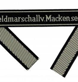 "WH Ärmelband ""Feldmarschall v. Mackensen"" Bevo Cuff title"
