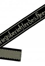 """WH Ärmelband """"Kriegsberichter des Heeres"""" Bevo Cuff title gewebt"""
