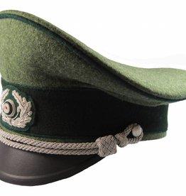 WWII German Heer Offizier Schirmmütze Gebirgstruppe Visor Hat