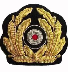 WWII Kriegsmarine handgesticktes Schirmmützen Abzeichen