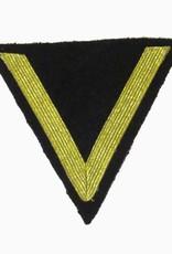 """Kriegsmarine Rangabzeichen """"Gefreiter"""", Dunkelblau Winkel"""