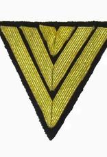 """Kriegsmarine Rangabzeichen """"Hauptgefreiter"""", Dunkelblau Winkel"""