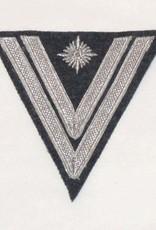 """WH Luftwaffe Rangabzeichen """"Stabsgefreiter"""", blaugrau Winkel"""