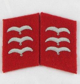 WWII Kragenspiegel Luftwaffe Feldwebel Flak