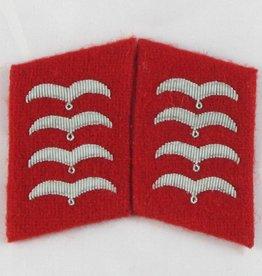 WWII Kragenspiegel Luftwaffe Stabsfeldwebel Flak
