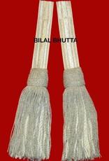 Schärpenquasten - silber