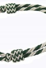 Mützenkordel - silber / Kunstseide
