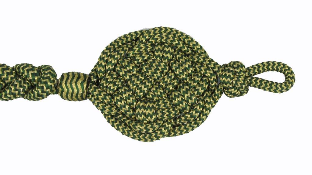 Schießschnur  gold/grün Schützenschnur