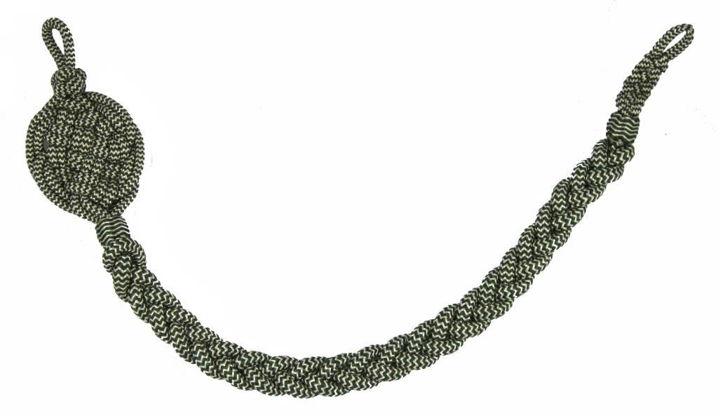 Schießschnur  silber/grün Schützenschnur