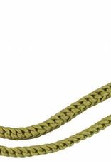Gold doppelt Schützenschnur Kettenzopfgeflecht, Schießschnur - 60cm