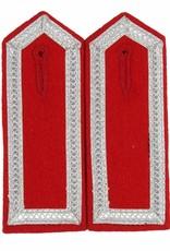 Schulterklappen mit 4 Seiten Aluminium Tresse