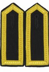 Schulterklappen mit 4 Seiten gold Tresse