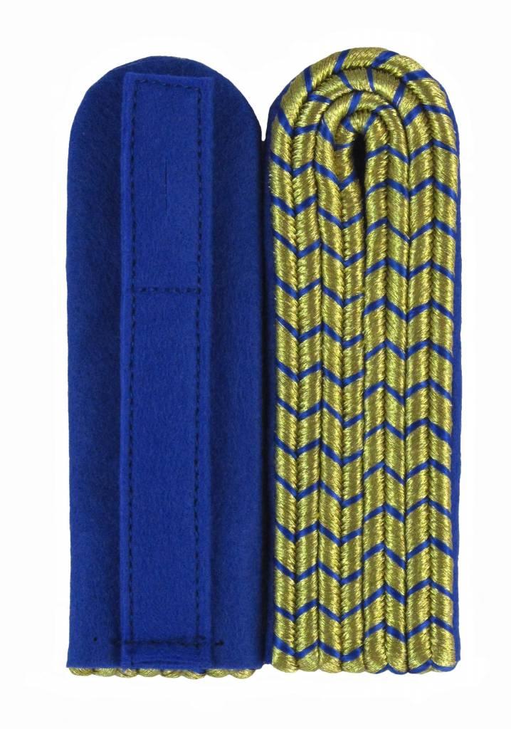 Schulterstücke mit goldfarbigem National