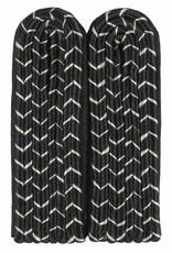4-streifige Schulterstücke - schwarz mit silber National