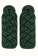Grün Majorsgeflecht - Schultergeflechte