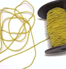 2mm Gold kordel für Kragenspiegel - 1 Meter