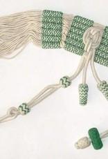 Husarenschärpe für Mannschaft (weiss-grün)