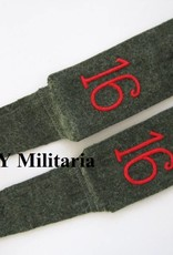 Kaiserreich Schulterklappen von H. Regiment