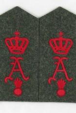 WK1 Schulterklappen Feldart. Rgt. Nr. 26 1 Abt.