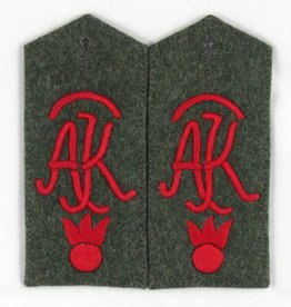 WK1 Schulterklppen Artillerie Prüfungs Kommission